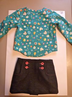 Made from the Oliver+S Sailboat top and skirt pattern