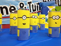 Made my own Minion party favors using Crystal Light containers. For the 1st time I didn't find many ideas on Pinterest, so I took matters into my own hands! LOL