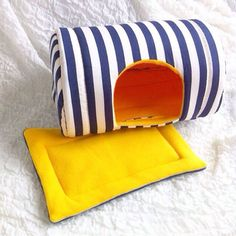 Fleece House For Chinchillas And Other Small Pets Guinea Pig House, Guinea Pig Care, Guinea Pigs, Diy Rodent Toys, Chinchilla Toys, Rodents, Pet Care, Hamster Stuff, Chinchillas