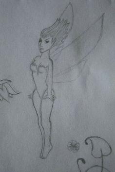 ⚪natta.lk @ instagram⚪ Teckning Fe Vingar Flyger Blyerts Drawing Fairy Flying Wings Graphite Blacklead
