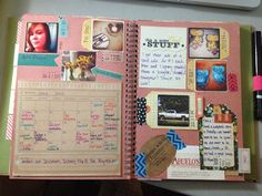 Mrs Crafty Adams | This time last year: Project Life SMASH book June 2012