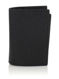 49% OFF Joseph Abboud Men\'s Embossed Caviar Grain Flip Passcase Wallet (Black)