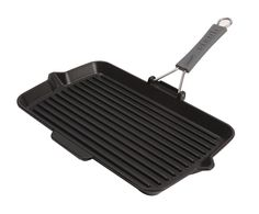 Staub Rectangular Grill w/Silicone Handle - 13' X 8.25' >>> Want to know more, click on the image. (Amazon affiliate link)