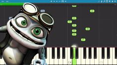 How to play Axel F - EASY Piano Tutorial - Crazy Frog