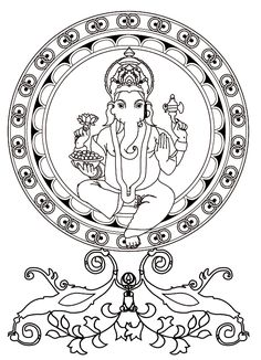 To print this free coloring page «coloring-adult-ganesh», click on the printer icon at the right