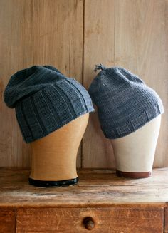 """Thank You Hats hat patterns by Whitney Van Nes (knitting, beanie, toque, tassel, purl bee) (free pattern) ——— featured in """"Holiday knitting cheat sheet: A hat for every head"""" http://fringeassociation.com/2012/11/13/holiday-knitting-cheat-sheet-a-hat-for-every-head/"""