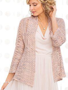 Crochet a summer cardigan lightweight sweater crochet pattern