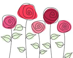 5 Cute Roses PNG by HanaBell1.deviantart.com on @deviantART