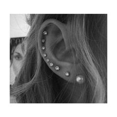 Pinterest: Discover and save creative ideas ❤ liked on Polyvore featuring piercings