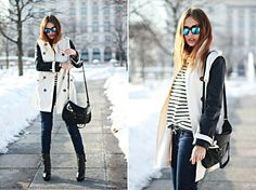 sunnies and trench