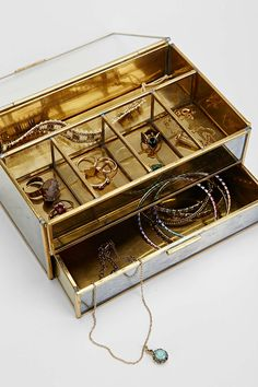 Magical Thinking Distressed Mirror Jewelry Box - Urban Outfitters