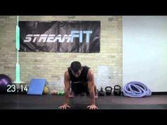 Streamfit: 40 Minute fat blasting full bodyweight workout - YouTube