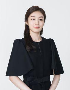 #Yuna Kim #김연아 Mother Baby Photography, Lee Bo Young, Kim Yuna, Engagement Makeup, Celebs, Celebrities, Hairstyles Haircuts, Sport Girl, Korean Beauty