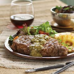 beef-chimichurri-steak-with-grilled-pineapple-recipe-by-H-E-B