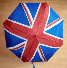 REGENSCHIRM ø98cm Union Jack England Fahne UK 24-57cm Taschenschirm Schirm