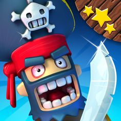 Plunder Pirates mobile MMO pirate-themed strategy video game. inspired by Clash of Clans, developed by Midoki and published by Rovio Stars