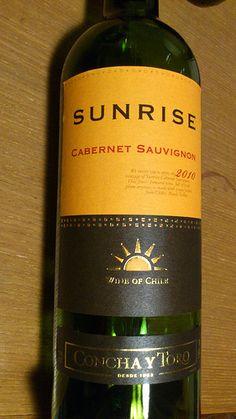SUNRISE Cabernet Sauvignon, Sunrise, Wine, Drinks, Bottle, Drinking, Beverages, Flask, Drink