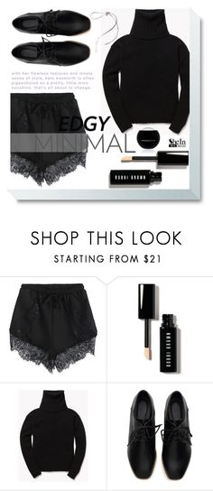 """""""Dark Angel"""" by violet-peach ❤ liked on Polyvore featuring Bobbi Brown Cosmetics, Theory and Edward Bess"""