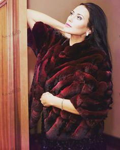 Chinchilla fur coat by FurbySD. Shop now www.furbysd.com