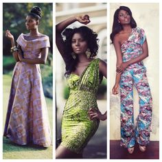 Sometimes all a gal needs is a well placed ankara pattern, and in those times SIka Designs is a go-to online shop. The brand features clothing that is made primarily in Ghana but shipped from the UK. Simple yet elegant, their designs can be styled to suit a range of occasions and are perfect for the girl who wants a tailored look without all of the fuss. The styles pictured above are available here. Photos from the Sika Designs Website