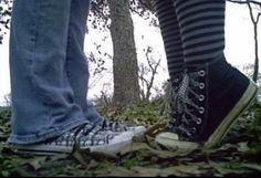 Image about love in sh00z by ♰ on We Heart It Urbane Fotografie, Estilo Grunge, Estilo Rock, Teen Romance, Fru Fru, Forest Fairy, Couple Aesthetic, Cybergoth, Teenage Dream