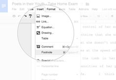 Keep your sources straight with easy footnotes - Google Tips