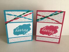 2017 Stampin' Up Sale-A-Bration Reverse Words Stamp Set