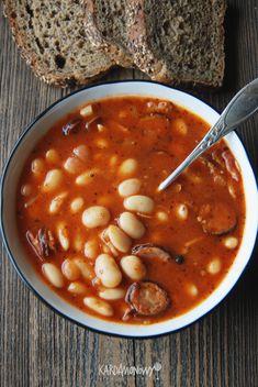Polish Recipes, Chana Masala, Grilling, Good Food, Food And Drink, Cooking Recipes, Vegetarian, Menu, Dinner
