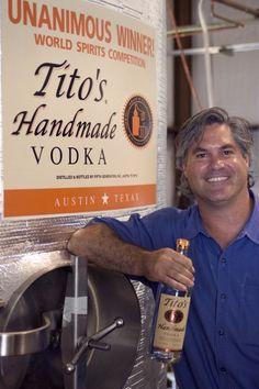 Tito & the daily taste test.