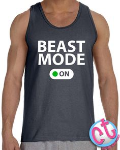 cfcccd929ce056 Funny Mens Workout Tank Top Mens Gift for by CasesandTees on Etsy