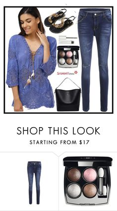 """""""Casual!"""" by b-necka ❤ liked on Polyvore featuring Chanel and Givenchy"""