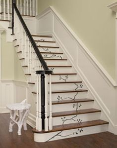 Great flowing stair idea