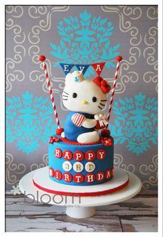 Hello Kitty Cake ~ adorable!