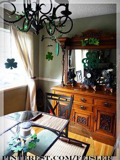 St Patrick's day decor decoration