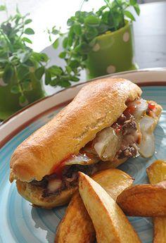Hotbeef med ovnkartofler