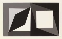 Homage to Malevich - (Victor Vasarely)