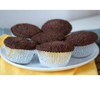 Muffin de Farelo de Aveia e Chocolate