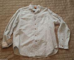 Tailor #vintage men size M slim fit button down Linen cotton shirt visit our ebay store at  http://stores.ebay.com/esquirestore