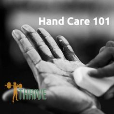 Hand Care for Calluses - how to care for callused hands that develop from kettlebell and barbell training.