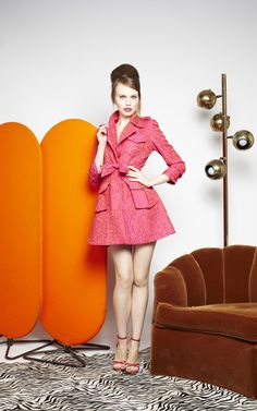OBSESSED!! with the KLEIN CLASSIC TRENCH COAT from Alice + Olivia. Just $798.  What a steal.