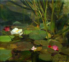 Richard Schmid, 'Water Lilies'