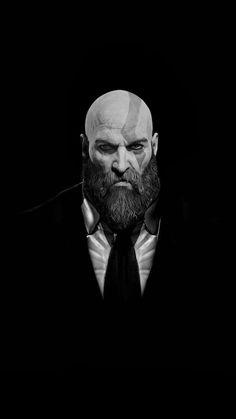 Hitman of war Best Iphone Wallpapers, Gaming Wallpapers, Joker Wallpapers, King's Quest, Kratos God Of War, Gaming Posters, War Tattoo, Marvel Wallpaper, Video Game Art