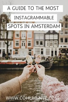 Plan your Amsterdam city trip and read my guide to the  best Instagram spots and the most instagrammable places. Here you will find all my insider tips for Amsterdam #Amsterdaamsterdam #amsterdamphotos #amsterdamphotographer #amsterdamtravel #amsterdamtraveltips #rijksmuseum Travel Guides, Travel Tips, Amsterdam City Guide, Amsterdam Photos, Europe Photos, European Destination, Scenic Photography, Most Beautiful Cities, That Way