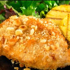 Recipe for Macadamia Nut Crusted Chicken - Once you try this Macadamia Nut Crusted Chicken recipe, chicken will never be the same.