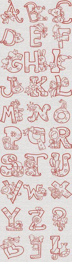 alfabeto-bordado-juguetes.jpg (442×1600)
