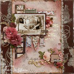 Best Friends **NEW Bo Bunny & Tresors de Luxe** - Scrapbook.com