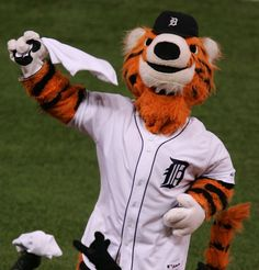 Image detail for -MLB Mascots - Paws (Tigers) | Sports Illustrated Kids