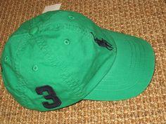 50d50fb1336 Polo ralph lauren baby boy baseball cap big pony 12 - 24 months new
