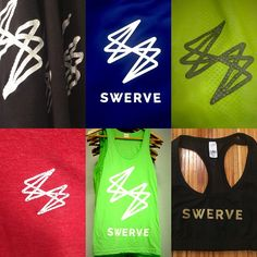 Now hanging at SWERVE. Check out our newest apparel!
