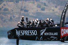 Emirates Team New Zealand wins Race 5 of 2013 America's Cup Final   BLU&news